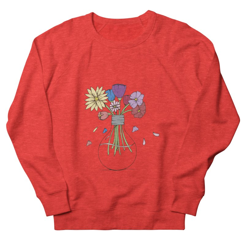 Cut Flowers Women's Sweatshirt by Svaeth's Artist Shop