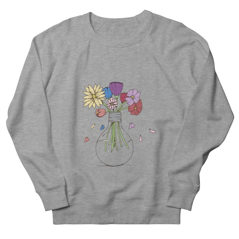 Cut Flowers Women's French Terry Sweatshirt by Svaeth's Artist Shop