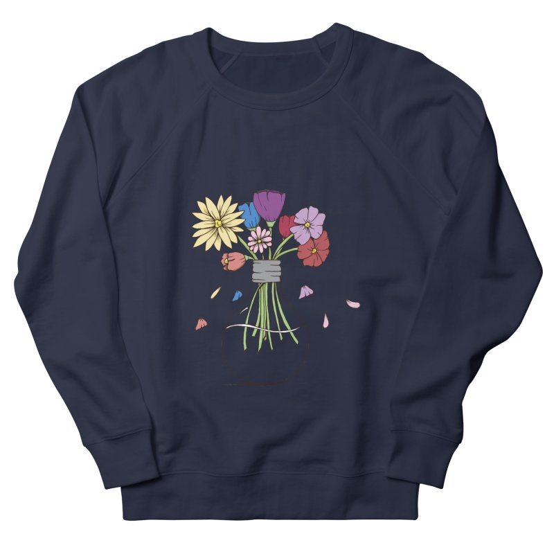 Cut Flowers Men's Sweatshirt by Svaeth's Artist Shop