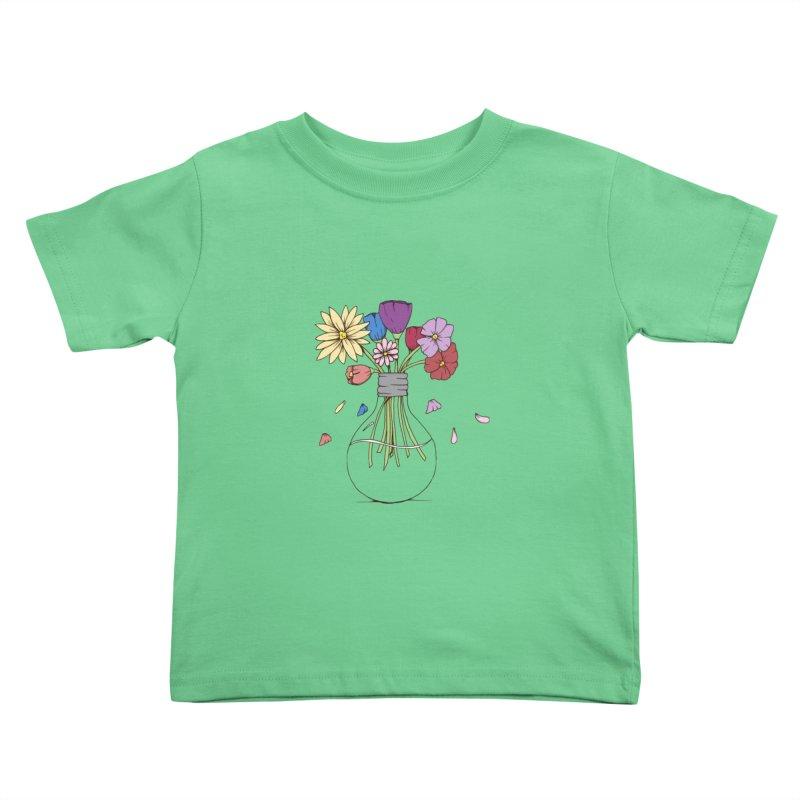 Cut Flowers Kids Toddler T-Shirt by Svaeth's Artist Shop
