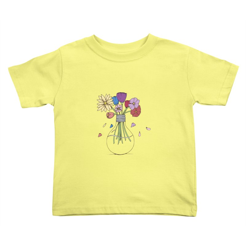 Cut Flowers Kids Toddler T-Shirt by Svaeth's Artist Shop