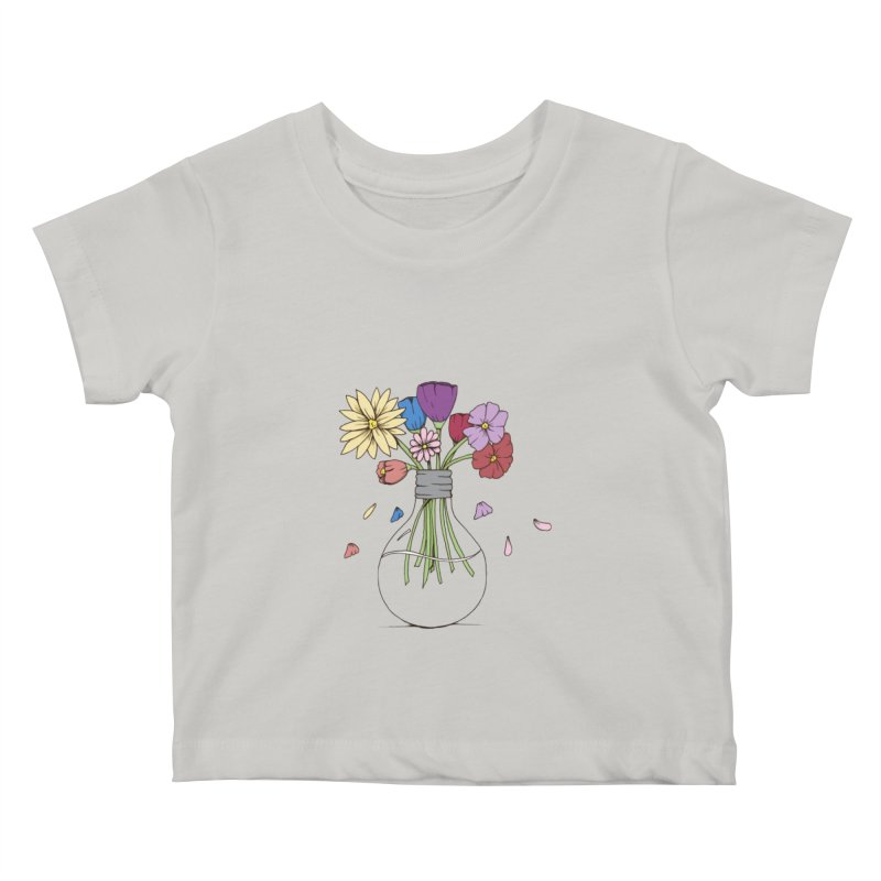 Cut Flowers Kids Baby T-Shirt by Svaeth's Artist Shop