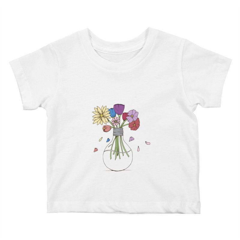 Cut Flowers Kids Baby T-Shirt by Svaeth's Artist Shop