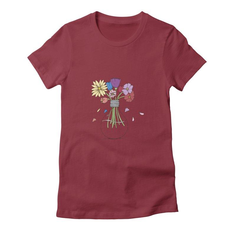 Cut Flowers Women's T-Shirt by Svaeth's Artist Shop