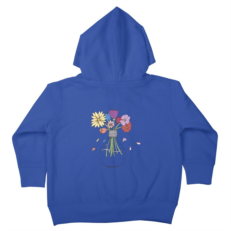 Cut Flowers Kids Toddler Zip-Up Hoody by Svaeth's Artist Shop