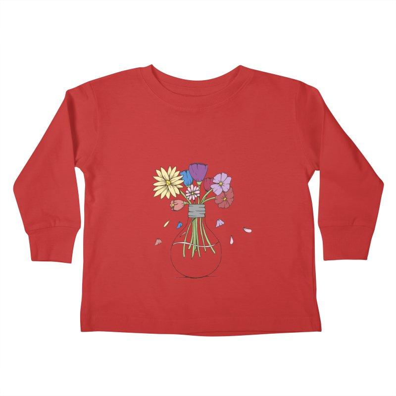 Cut Flowers Kids Toddler Longsleeve T-Shirt by Svaeth's Artist Shop