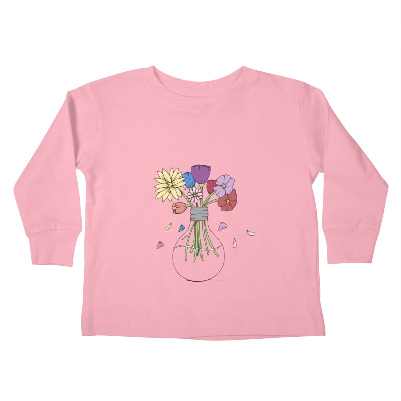 Cut Flowers Kids Toddler Longsleeve T-Shirt by Svaeth's Artist Shop