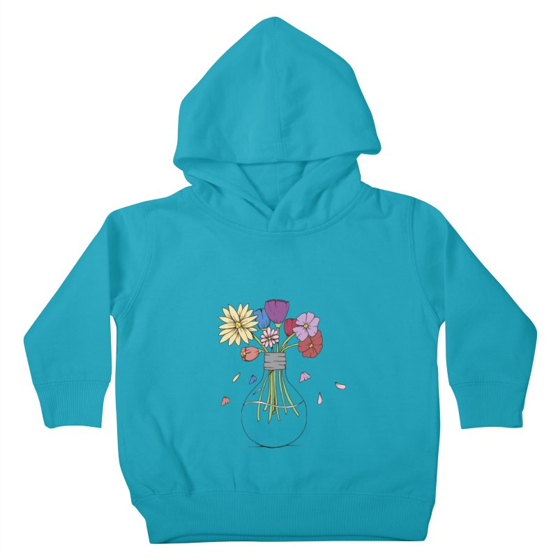 Cut Flowers Kids Toddler Pullover Hoody by Svaeth's Artist Shop