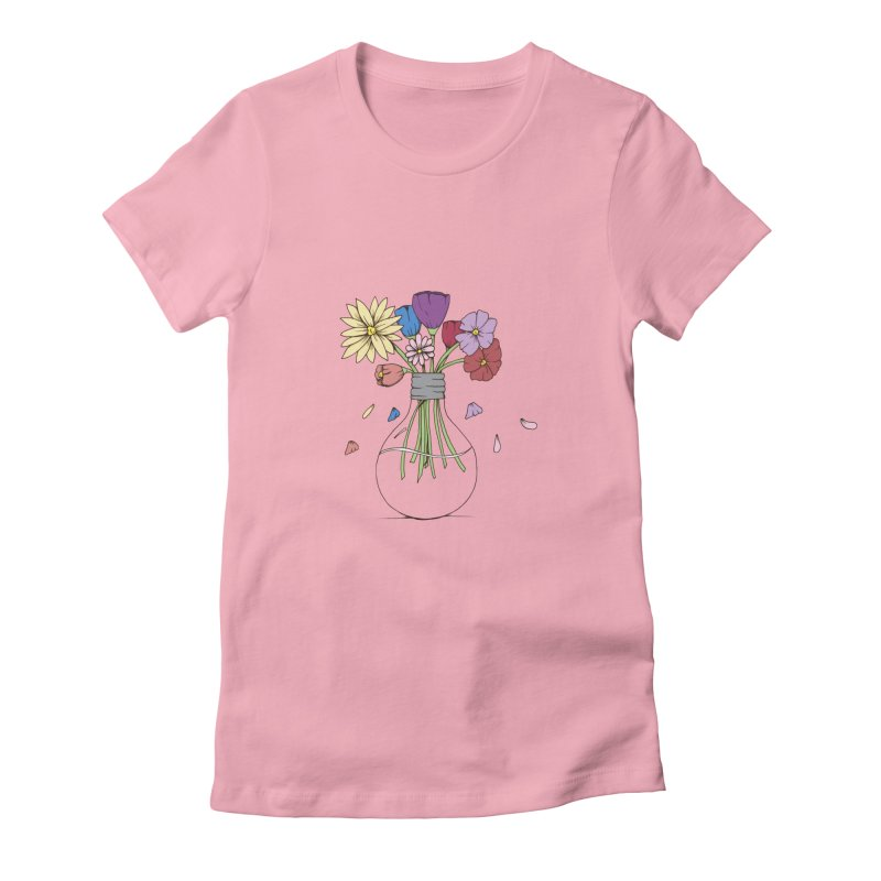 Cut Flowers Women's Fitted T-Shirt by Svaeth's Artist Shop
