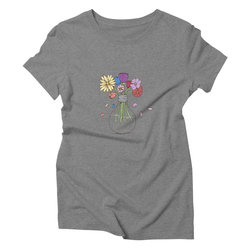 Cut Flowers Women's Triblend T-Shirt by Svaeth's Artist Shop