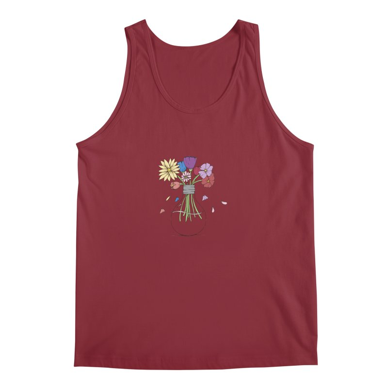 Cut Flowers Men's Tank by Svaeth's Artist Shop