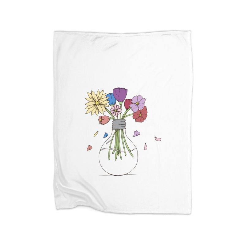 Cut Flowers Home Blanket by Svaeth's Artist Shop