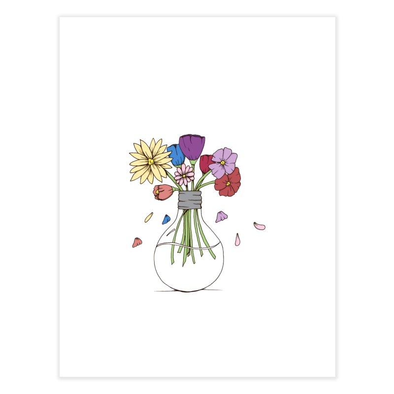 Cut Flowers Home Fine Art Print by Svaeth's Artist Shop