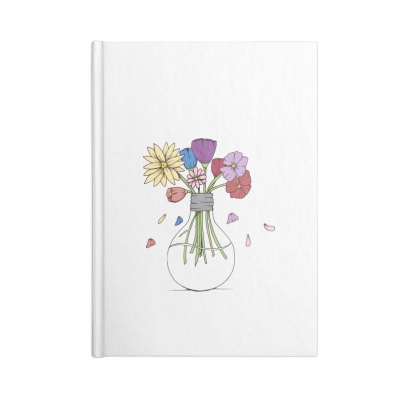 Cut Flowers Accessories Notebook by Svaeth's Artist Shop