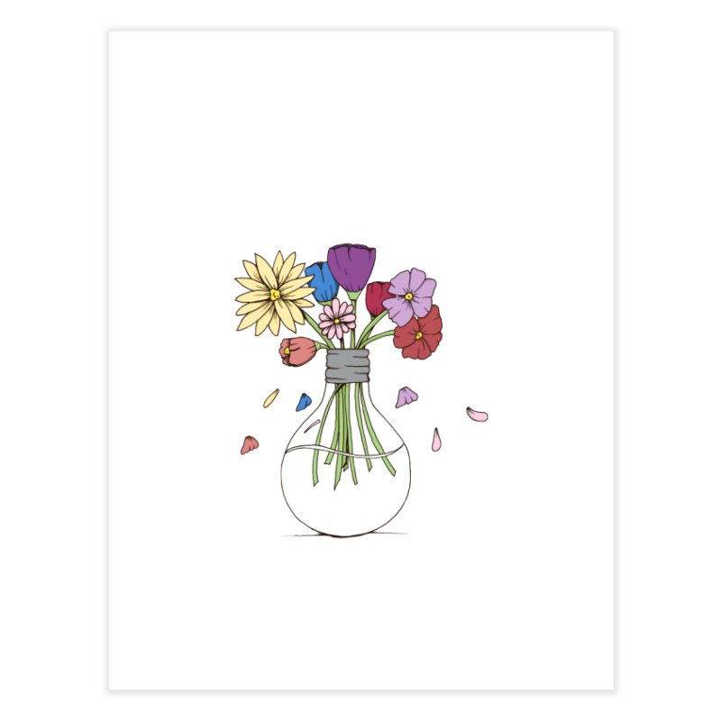 Cut Flowers Home Fine Art Print by Svaeth's Artist Shop