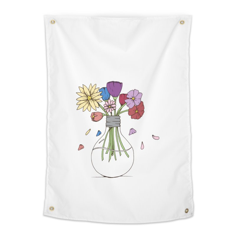 Cut Flowers Home Tapestry by Svaeth's Artist Shop