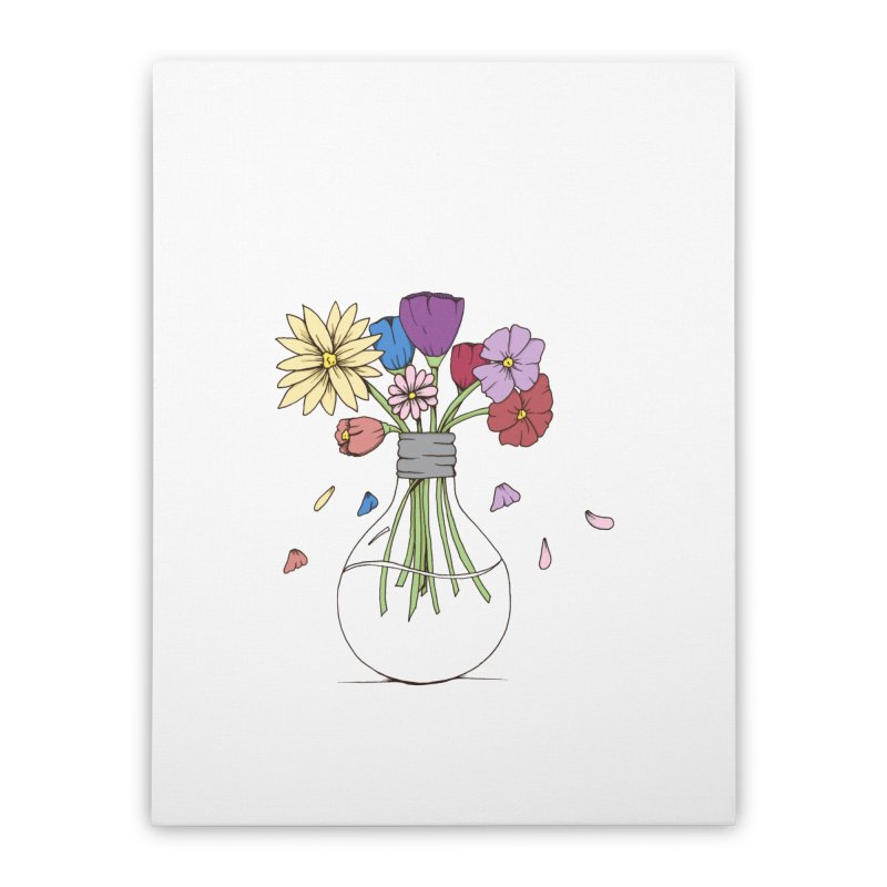 Cut Flowers Home Stretched Canvas by Svaeth's Artist Shop