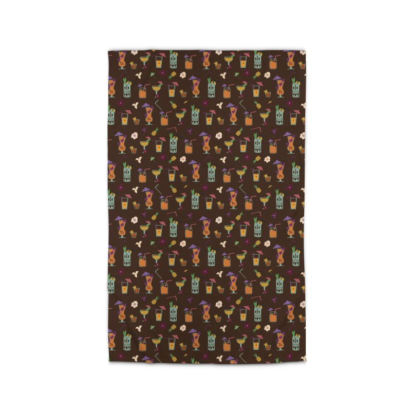 Tropical Drinks Home Rug by Svaeth's Artist Shop