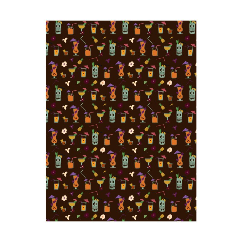 Tropical Drinks Home Blanket by Svaeth's Artist Shop