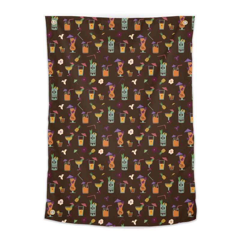Tropical Drinks Home Tapestry by Svaeth's Artist Shop