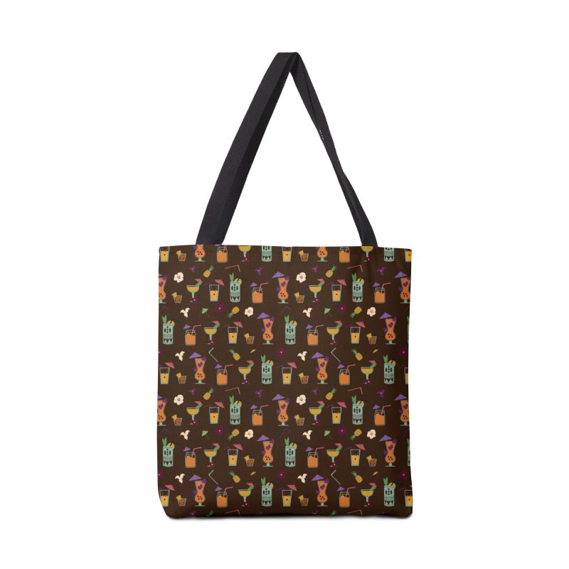 Tropical Drinks Accessories Bag by Svaeth's Artist Shop