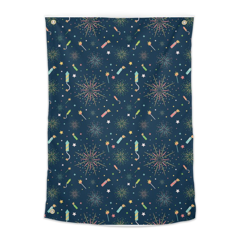 Fireworks Home Tapestry by Svaeth's Artist Shop