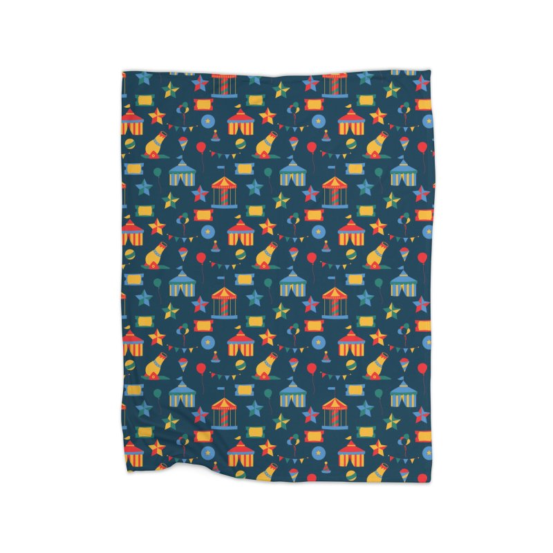 Circus Home Blanket by Svaeth's Artist Shop