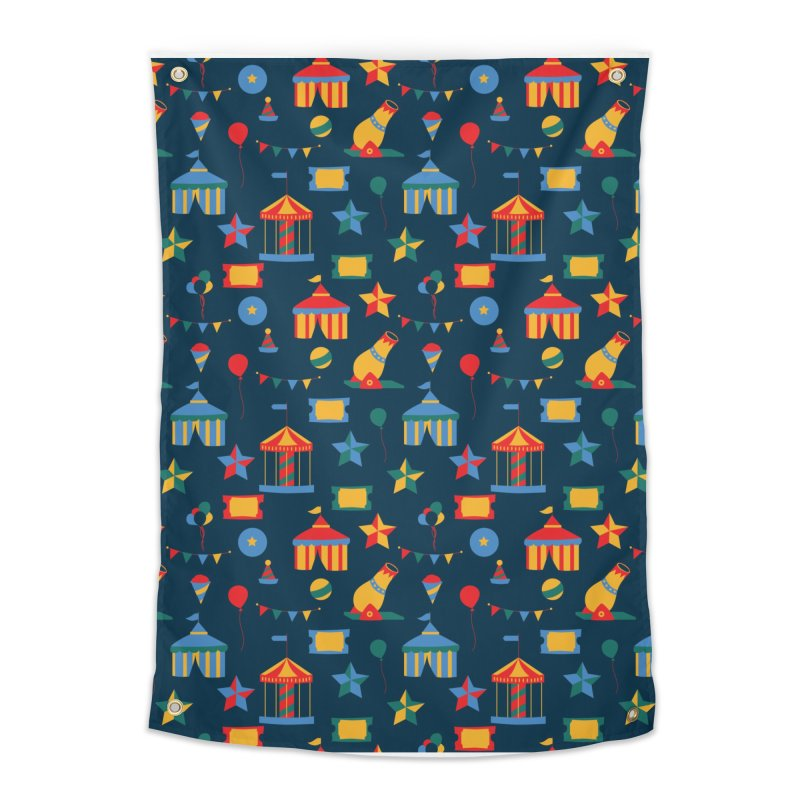 Circus Home Tapestry by Svaeth's Artist Shop
