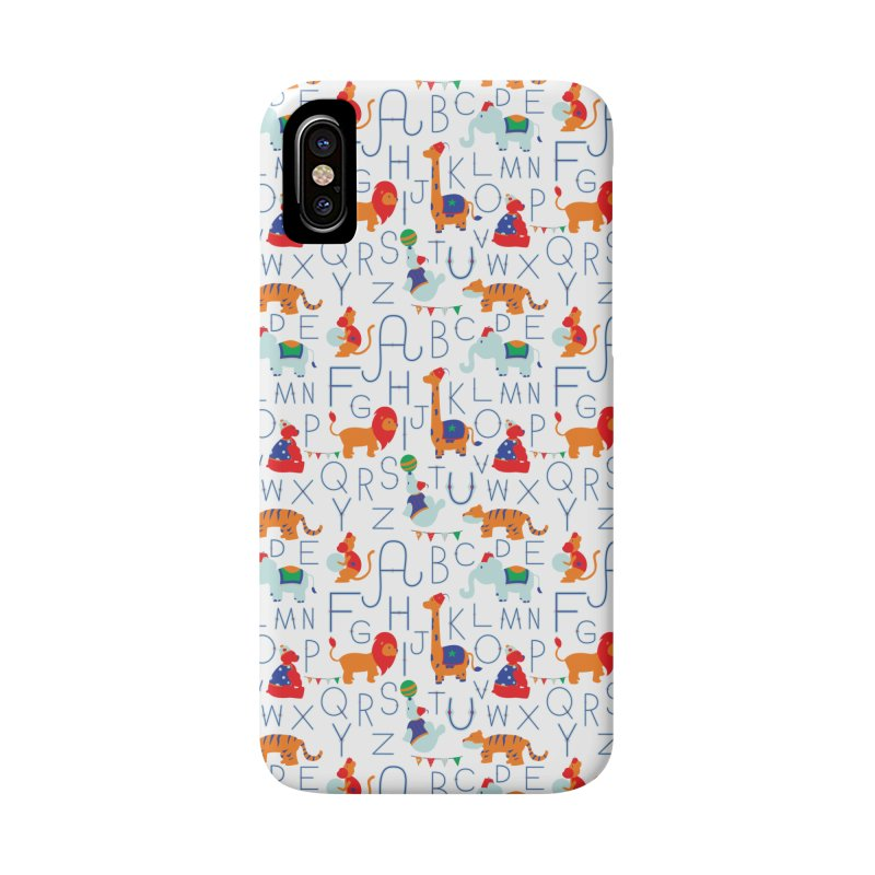 Alphabet Circus Accessories Phone Case by Svaeth's Artist Shop