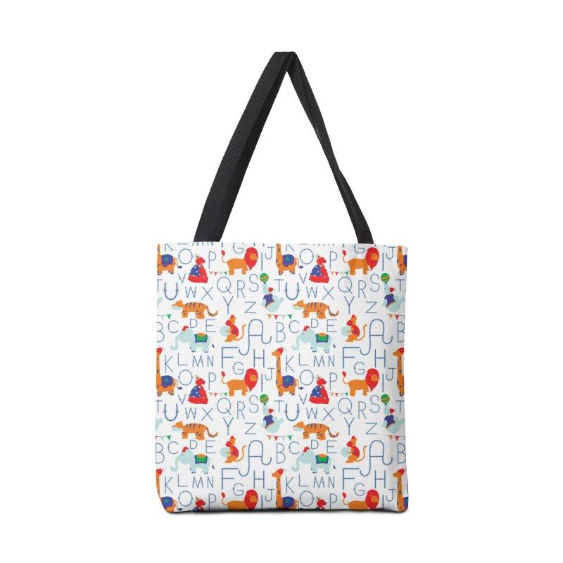 Alphabet Circus Accessories Bag by Svaeth's Artist Shop