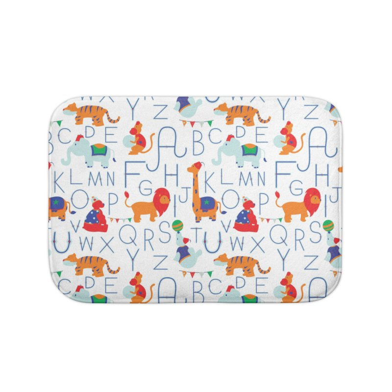 Alphabet Circus Home Bath Mat by Svaeth's Artist Shop