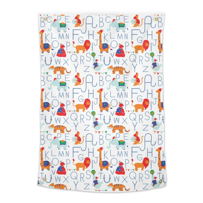 Alphabet Circus Home Tapestry by Svaeth's Artist Shop