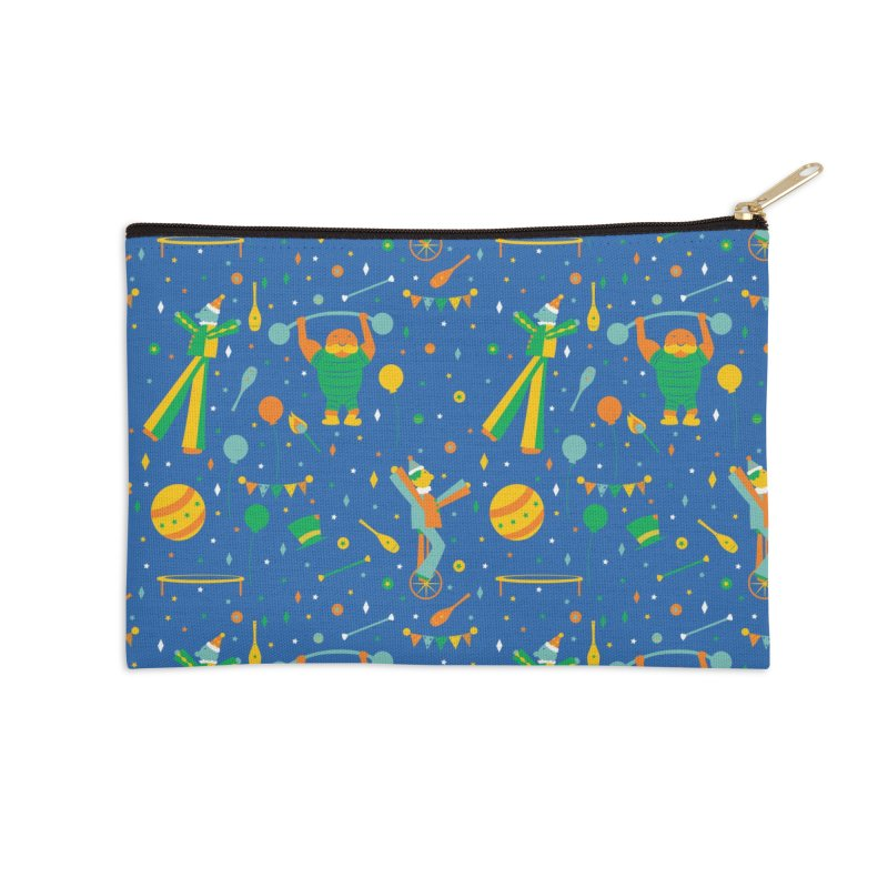Circus Performer  Accessories Zip Pouch by Svaeth's Artist Shop