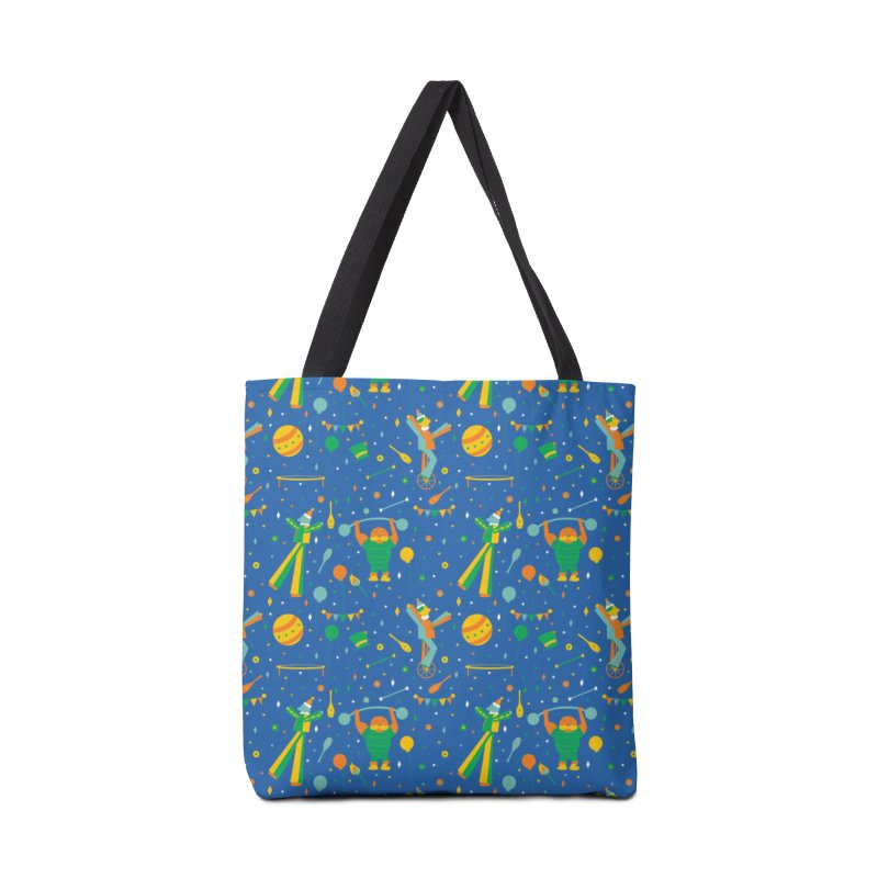 Circus Performer  Accessories Bag by Svaeth's Artist Shop