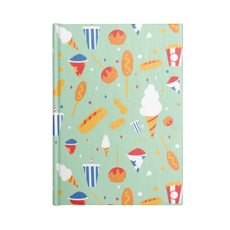 Circus Food Accessories Notebook by Svaeth's Artist Shop
