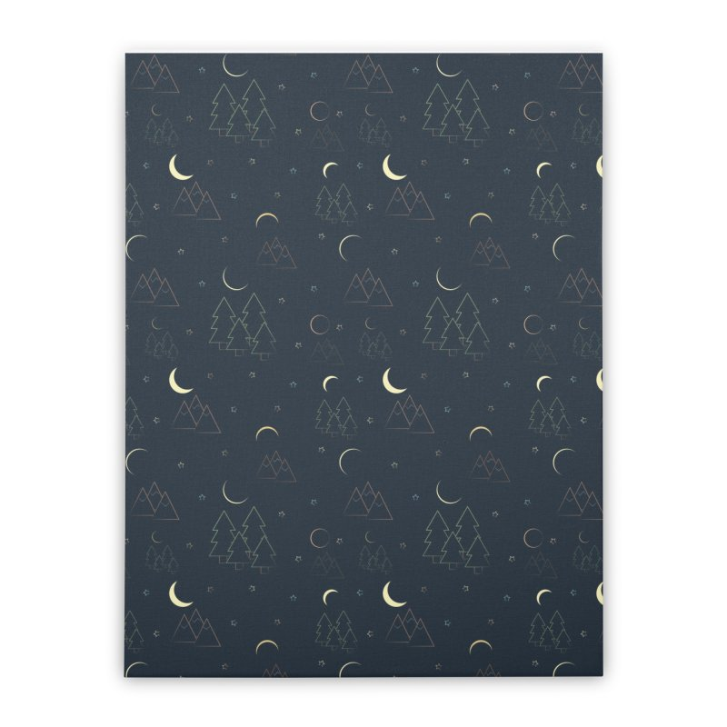 Eclipse Home Stretched Canvas by Svaeth's Artist Shop
