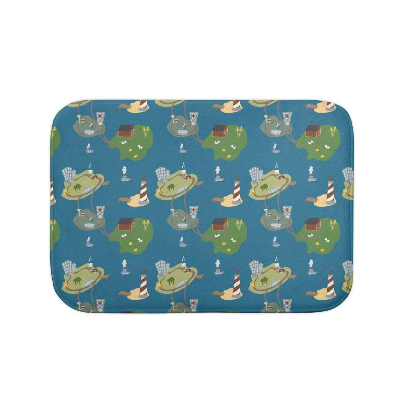 Exploration Home Bath Mat by Svaeth's Artist Shop