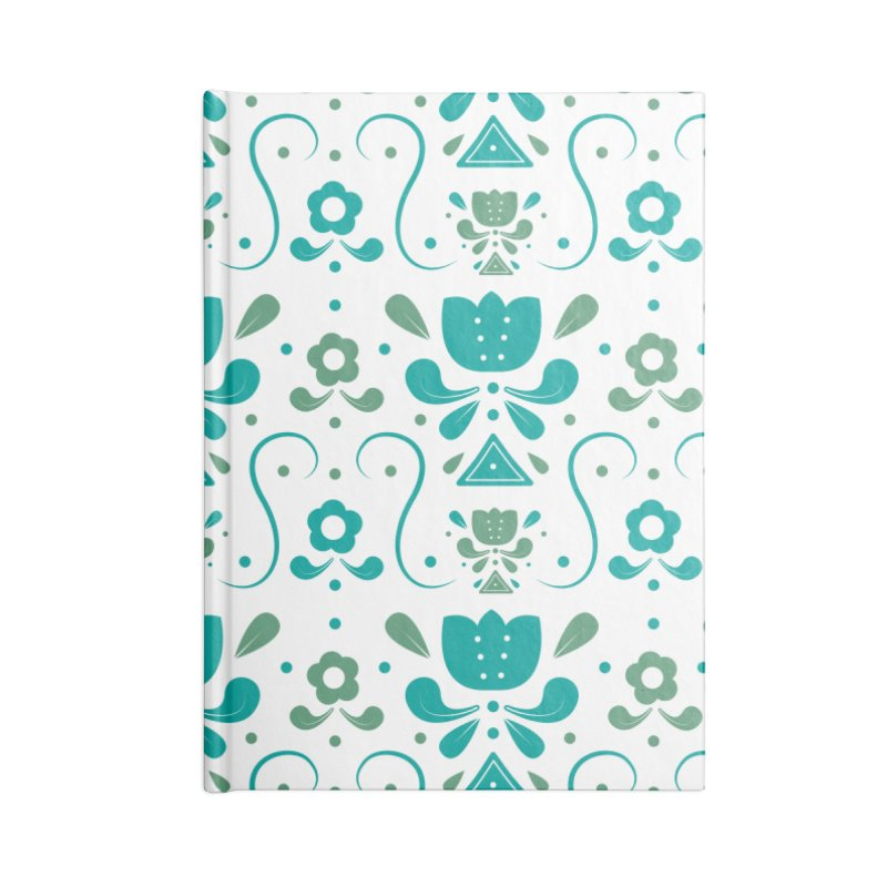 Floral Accessories Notebook by Svaeth's Artist Shop
