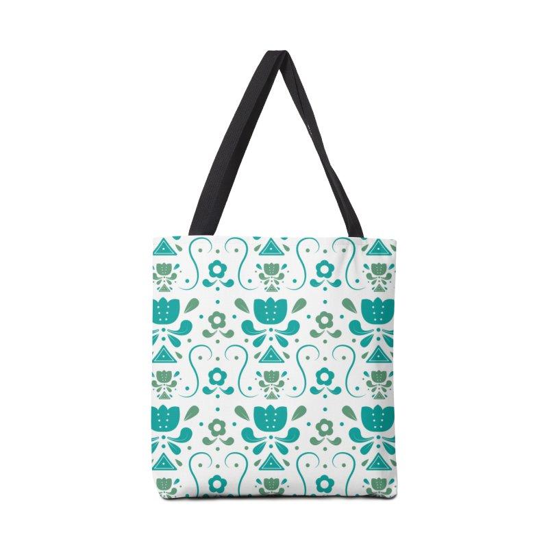 Floral Accessories Bag by Svaeth's Artist Shop