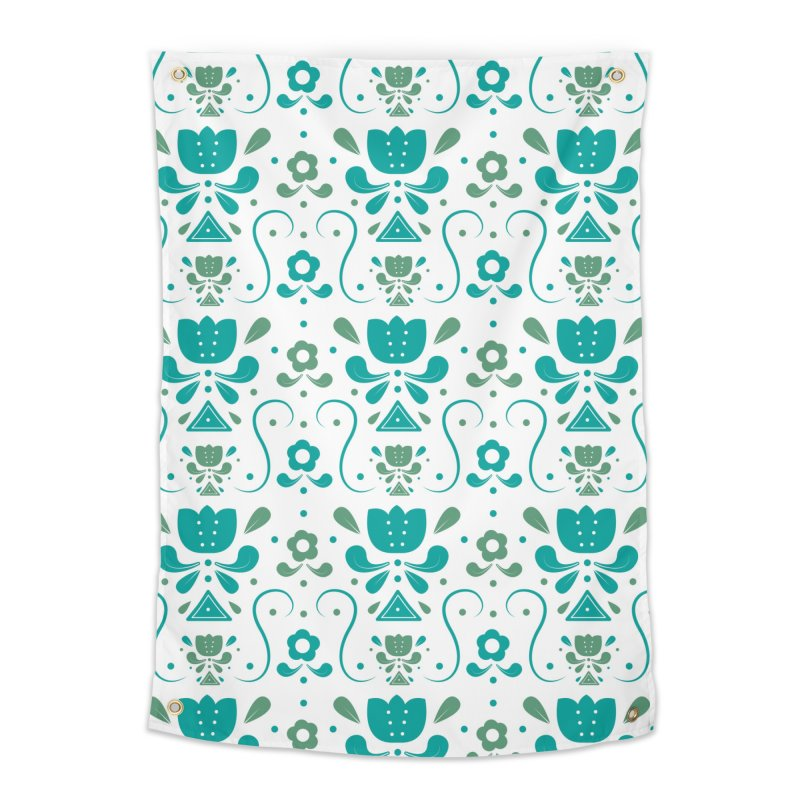 Floral Home Tapestry by Svaeth's Artist Shop