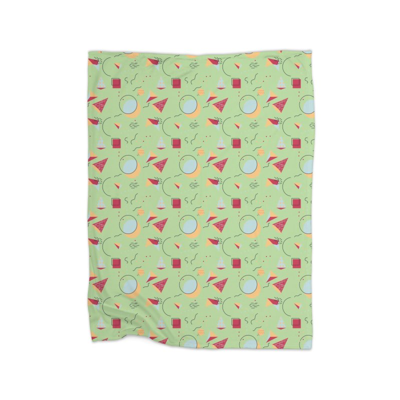 Memphis Style Home Blanket by Svaeth's Artist Shop