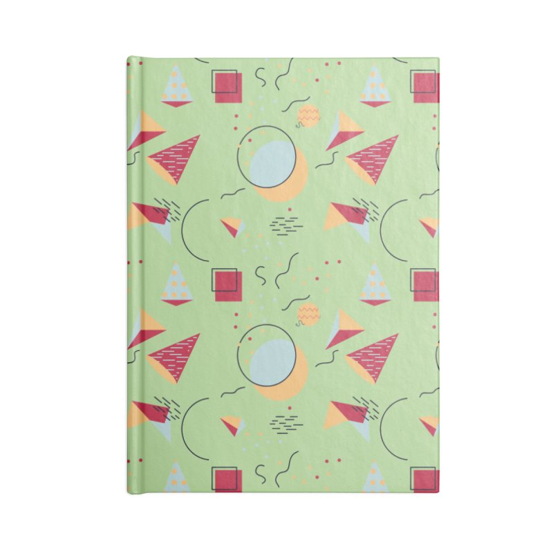 Memphis Style Accessories Notebook by Svaeth's Artist Shop