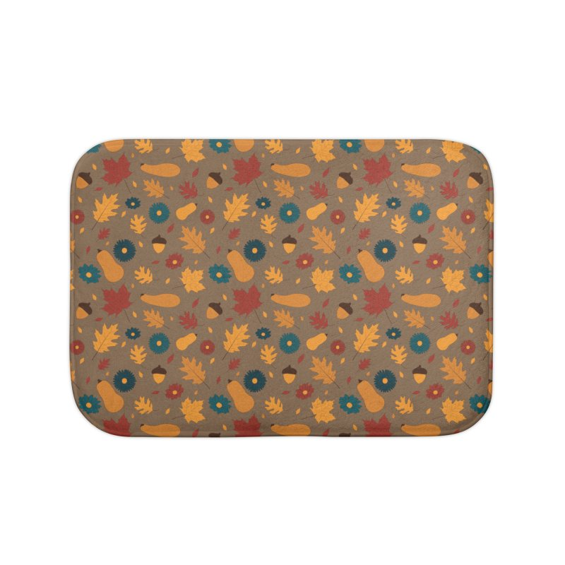 Autumn Home Bath Mat by Svaeth's Artist Shop