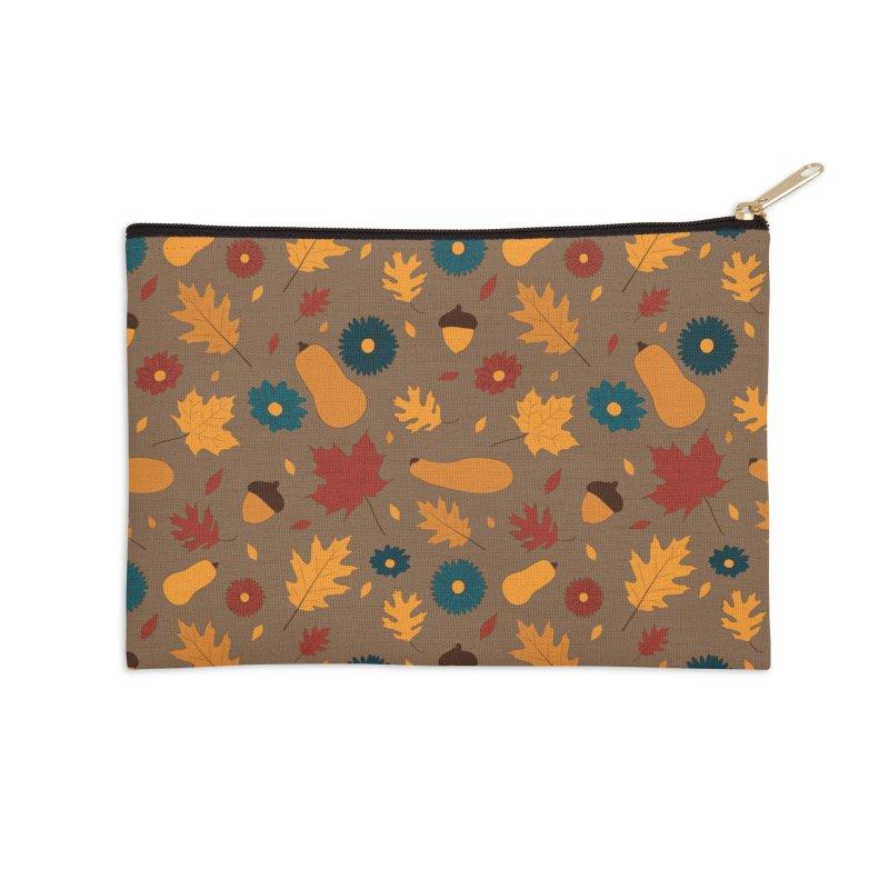 Autumn Accessories Zip Pouch by Svaeth's Artist Shop