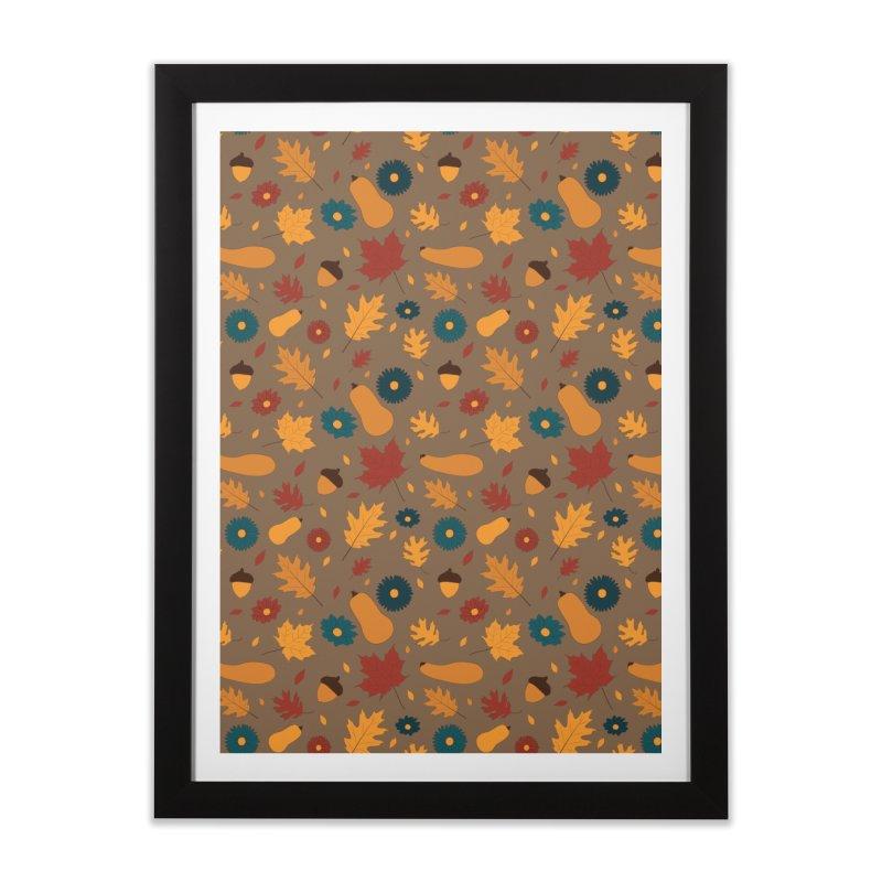 Autumn Home Framed Fine Art Print by Svaeth's Artist Shop