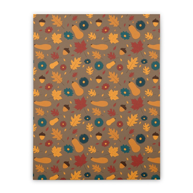 Autumn Home Stretched Canvas by Svaeth's Artist Shop