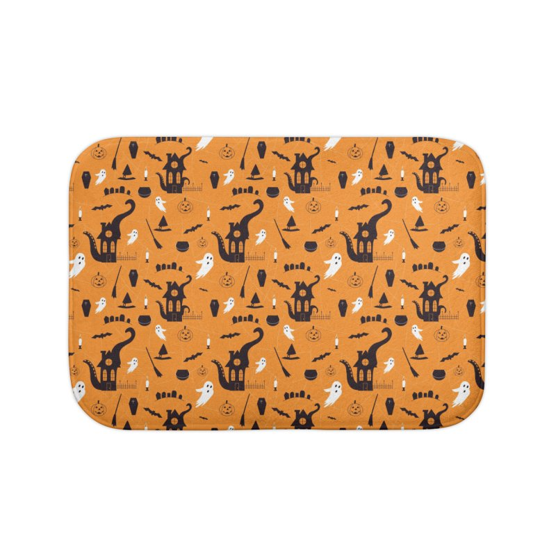 Halloween Home Bath Mat by Svaeth's Artist Shop