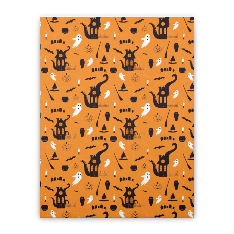 Halloween Home Stretched Canvas by Svaeth's Artist Shop