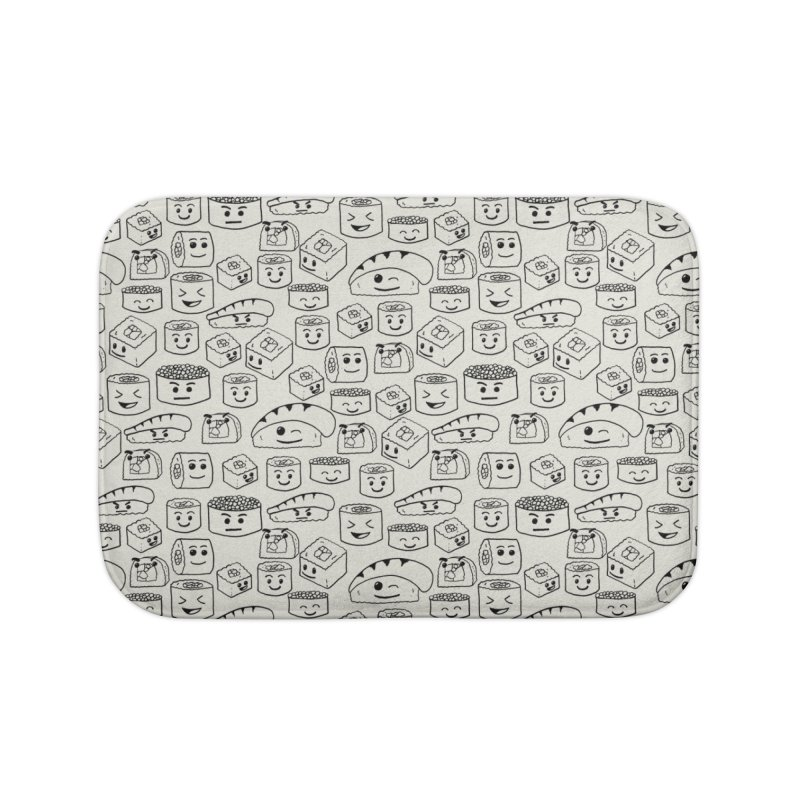 Sushi Home Bath Mat by Svaeth's Artist Shop