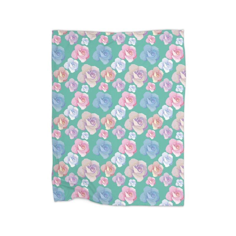 Roses Home Blanket by Svaeth's Artist Shop